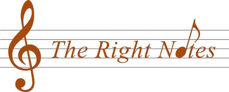 The Right Notes logo